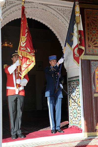 Coopération militaire Maroco - Française  - Page 3 EMIA-la-promotion-General-Delayen-au-Maroc-sur-les-traces-de-son-parrain-Mai-2015-Photo-3-C-Driss-BENMALEK