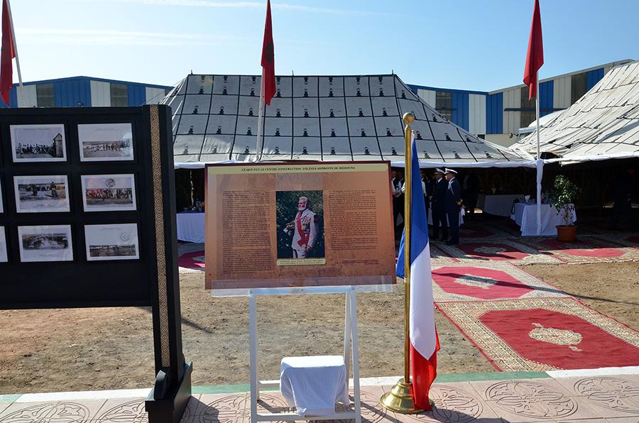Coopération militaire Maroco - Française  - Page 3 EMIA-la-promotion-General-Delayen-au-Maroc-sur-les-traces-de-son-parrain-Mai-2015-Photo-32