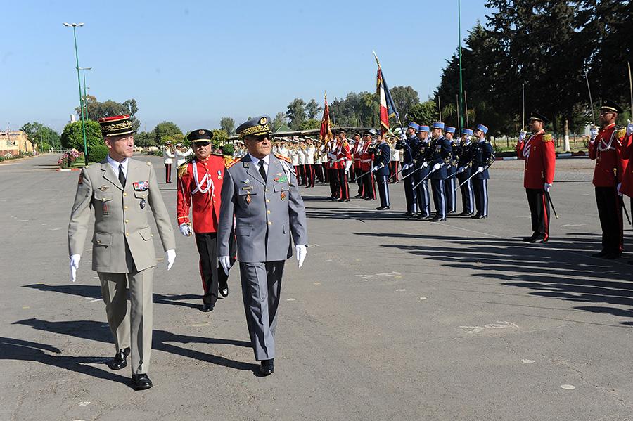 Coopération militaire Maroco - Française  - Page 3 EMIA-la-promotion-General-Delayen-au-Maroc-sur-les-traces-de-son-parrain-Mai-2015-Photo-6-C-Driss-BENMALEK