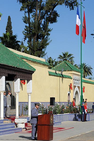Coopération militaire Maroco - Française  - Page 3 EMIA-la-promotion-General-Delayen-au-Maroc-sur-les-traces-de-son-parrain-Mai-2015-Photo-7-C-Driss-BENMALEK