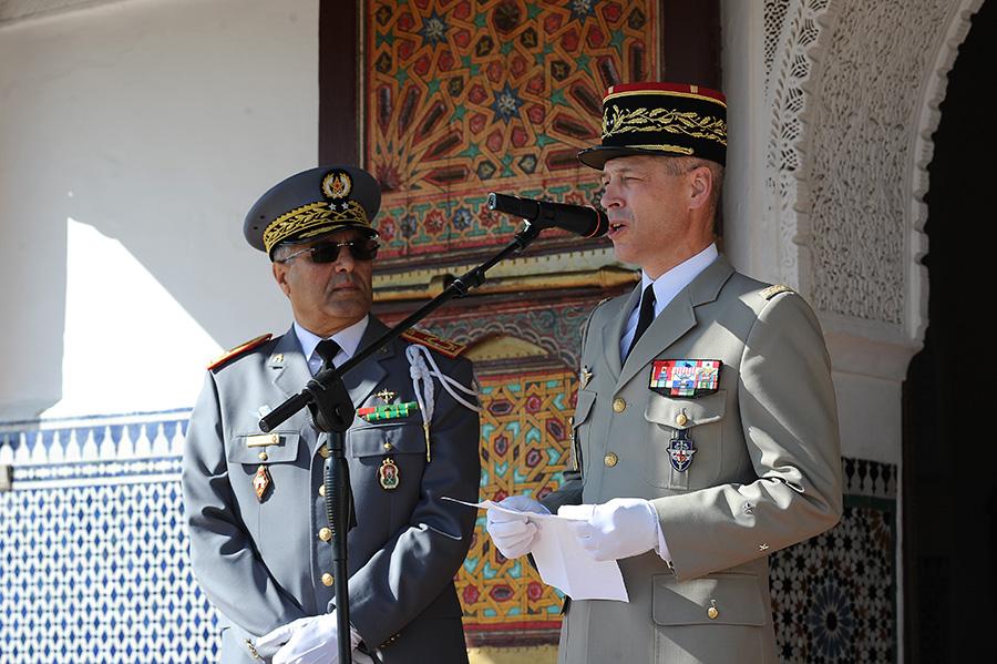 Coopération militaire Maroco - Française  - Page 3 EMIA-la-promotion-General-Delayen-au-Maroc-sur-les-traces-de-son-parrain-Mai-2015-Photo-8-C-Driss-BENMALEK