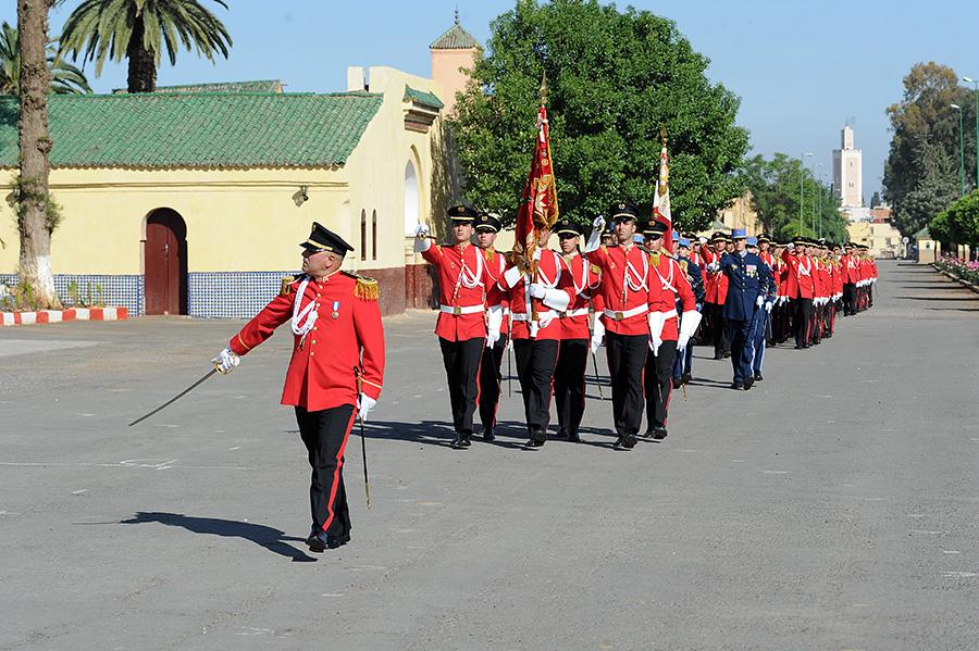 Coopération militaire Maroco - Française  - Page 3 EMIA-la-promotion-General-Delayen-au-Maroc-sur-les-traces-de-son-parrain-Mai-2015-Photo-9-C-Driss-BENMALEK